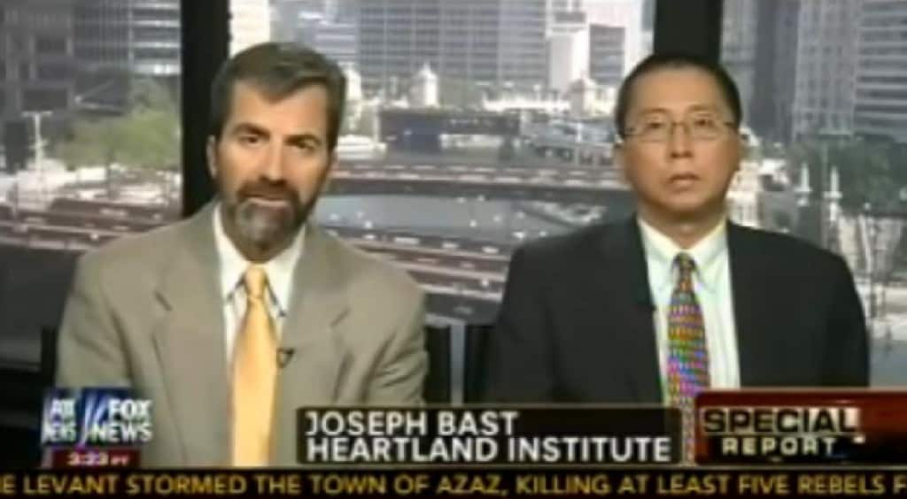 Joe Bast and Willie Soon