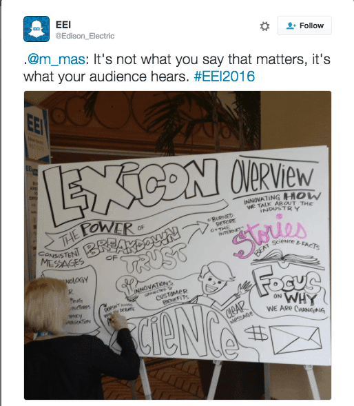 """Stories beat science and facts."" This Edison Electric Institute Tweet sums up the rationale behind the Lexicon Project."