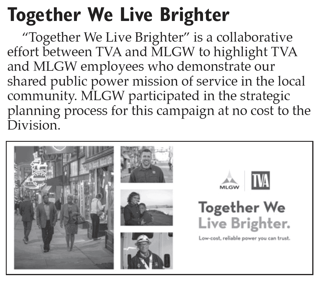 TVA MLGW Together We Light Brighter